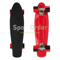 "Лонгборд Lboard fish 22"" mono blk/red"