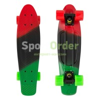 "Лонгборд Lboard fish 22"" red/green"