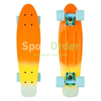 "Lboard fish 22"" orange/blue"