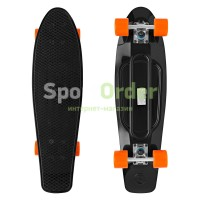 "Лонгборд Lboard shark tube 27"" black"