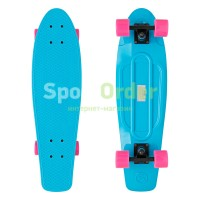 "Лонгборд Lboard tube shark 27"" blue"